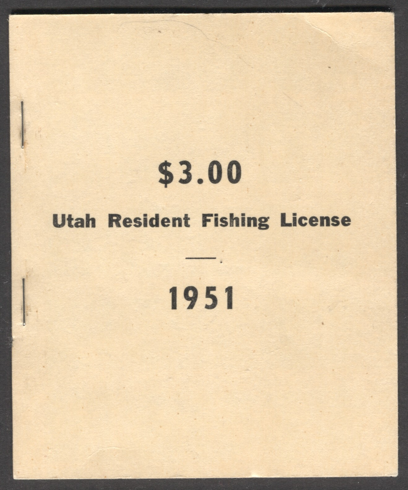 utah revenue stamps fishing license wooton 3 ebay