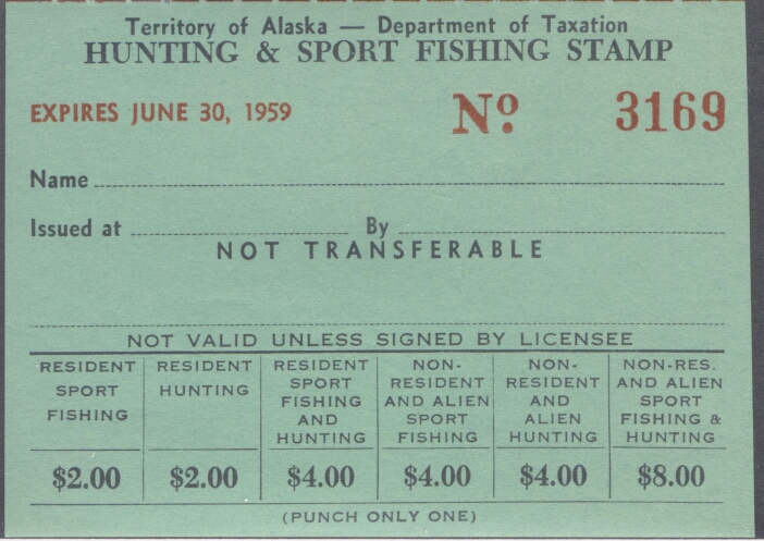 Alaska fishing license for seniors for Utah non resident fishing license